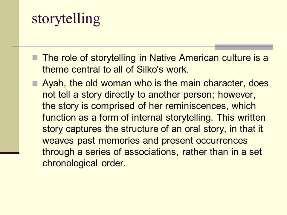 leslie marmon silko storyteller full text