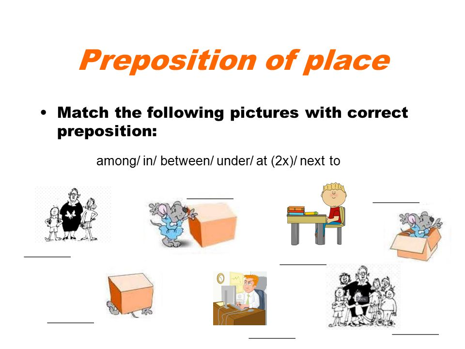 prepositions of place pictures pdf