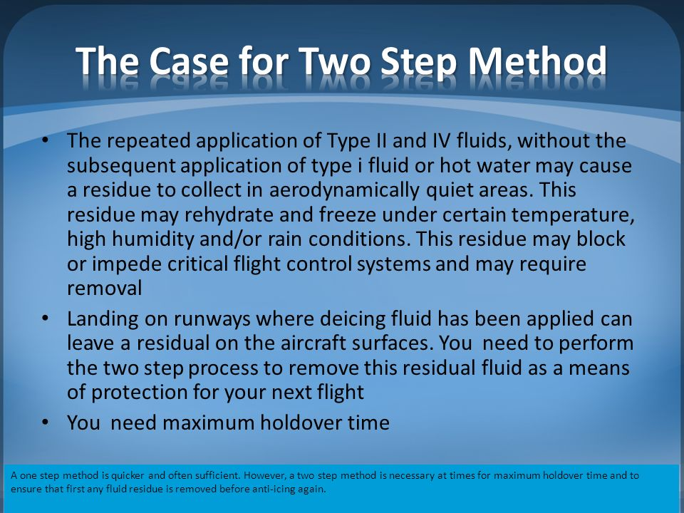 De-icing/Anti-icing Review - ppt video online download