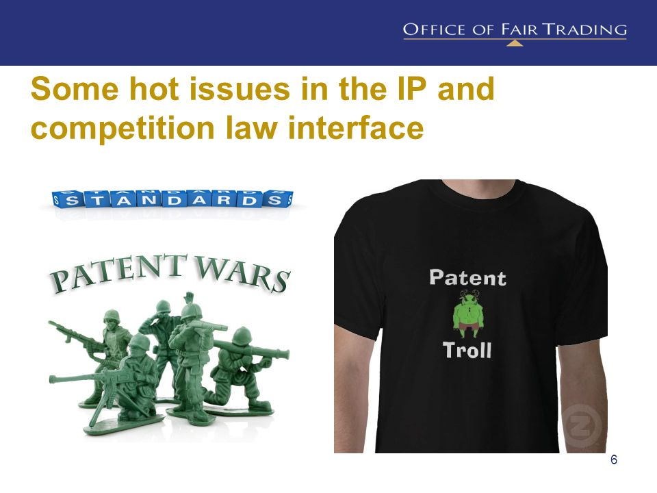 Some hot issues in the IP and competition law interface