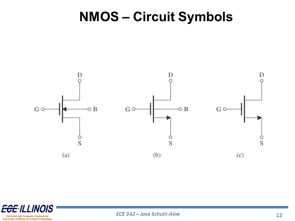 electrical engineering circuit symbols