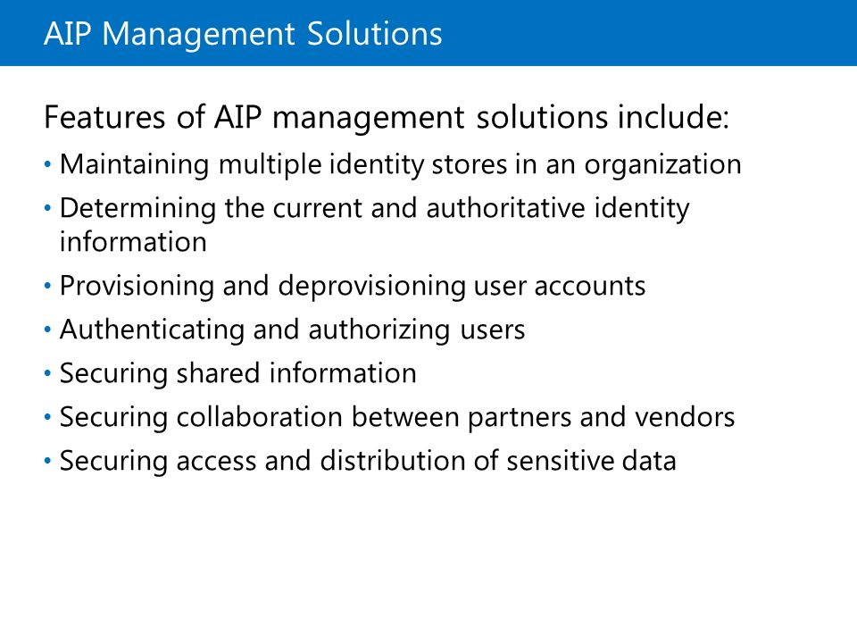 AIP Management Solutions