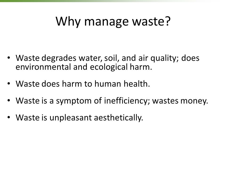 harmful effects of solid waste
