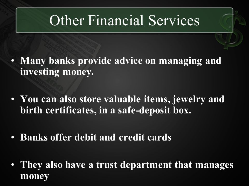 Other Financial Services