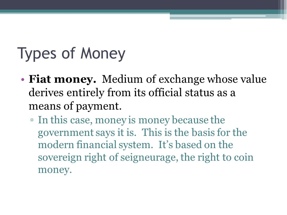 financial sector: definition and measurement of money - ppt video