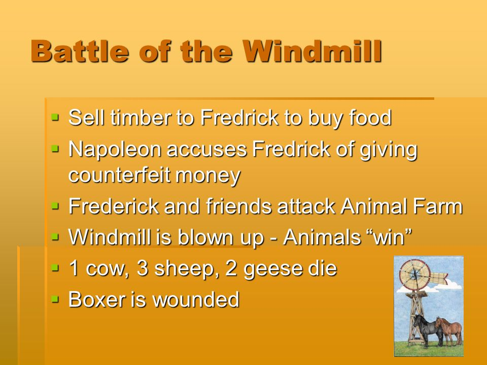 why is the windmill important in animal farm