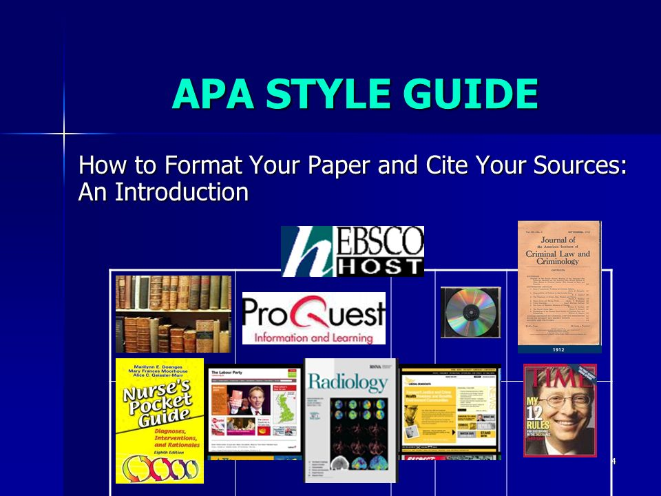 apa style research paper introduction The introduction gives an overall review of the paper, but does address a few slightly different issues from the abstract it works on the principle of introducing the topic of the paper and setting it in a broader context, gradually narrowing the topic down to a research problem , thesis and hypothesis.