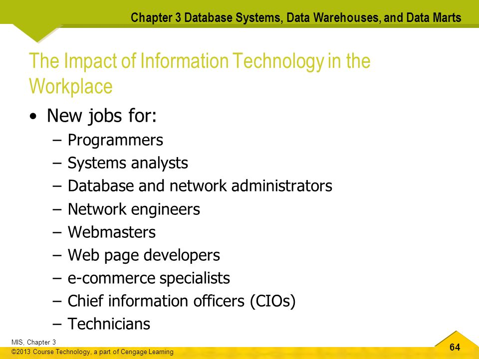 mis database systems data warehouses and data marts chapter 3 rh slideplayer com