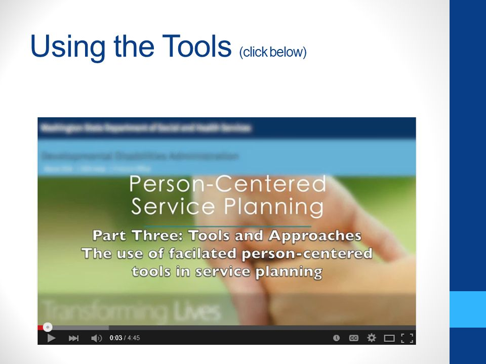 The Person- Centered Perspective - ppt video online download