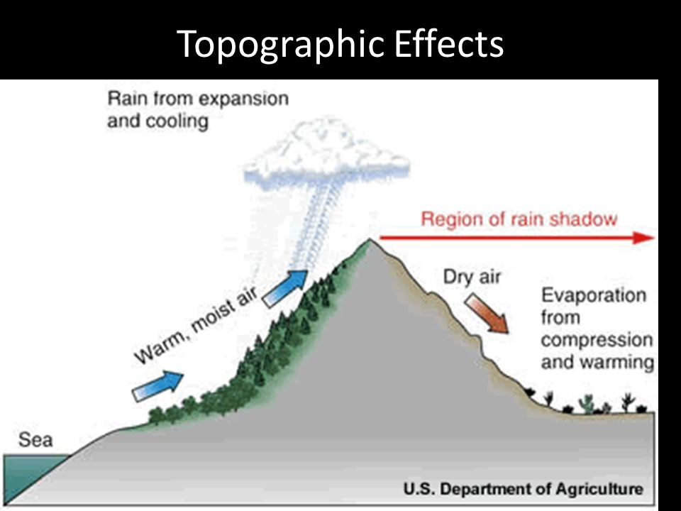 Topographic Effects