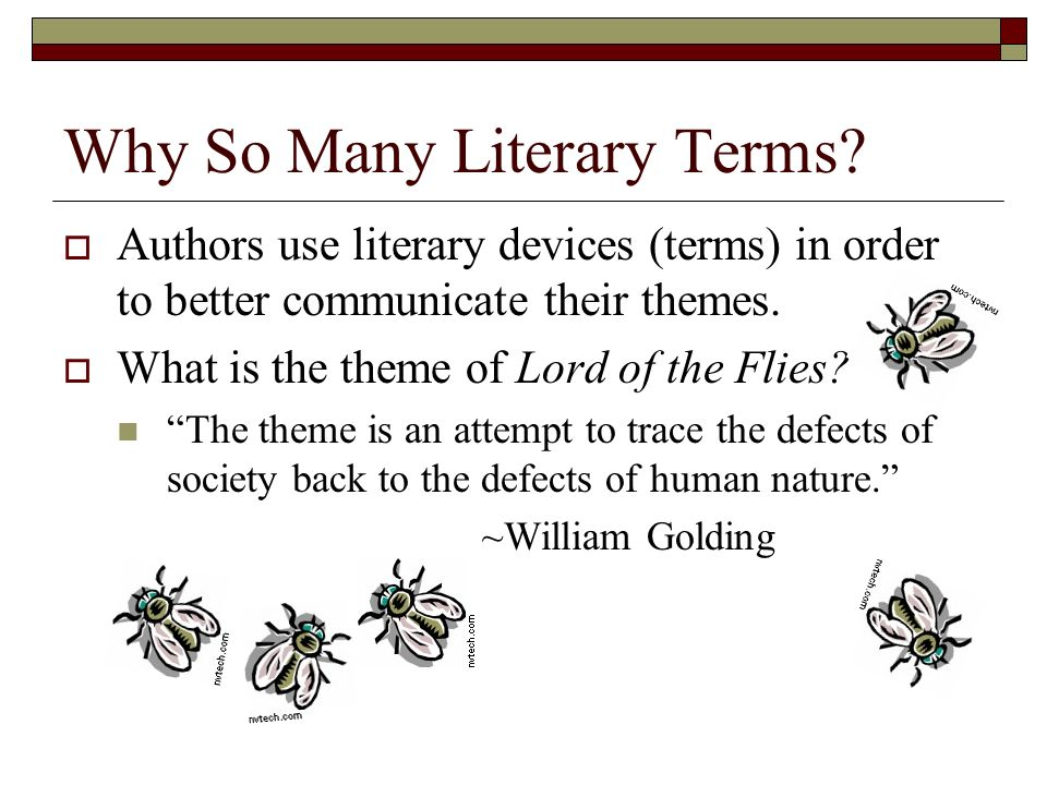 lord of the flies literary elements