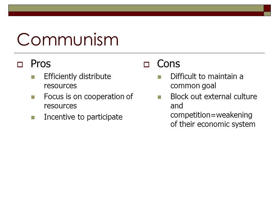 Cons of capitalism essay