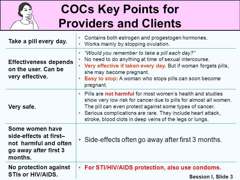 COCs Key Points for Providers and Clients