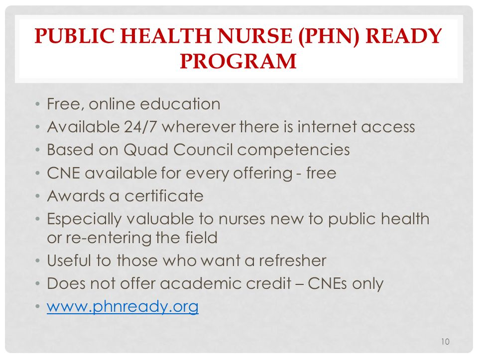 Quad Council For Public Health Nursing Organizations Ppt Download