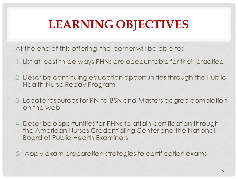 quad council for public health nursing organizations - ppt download