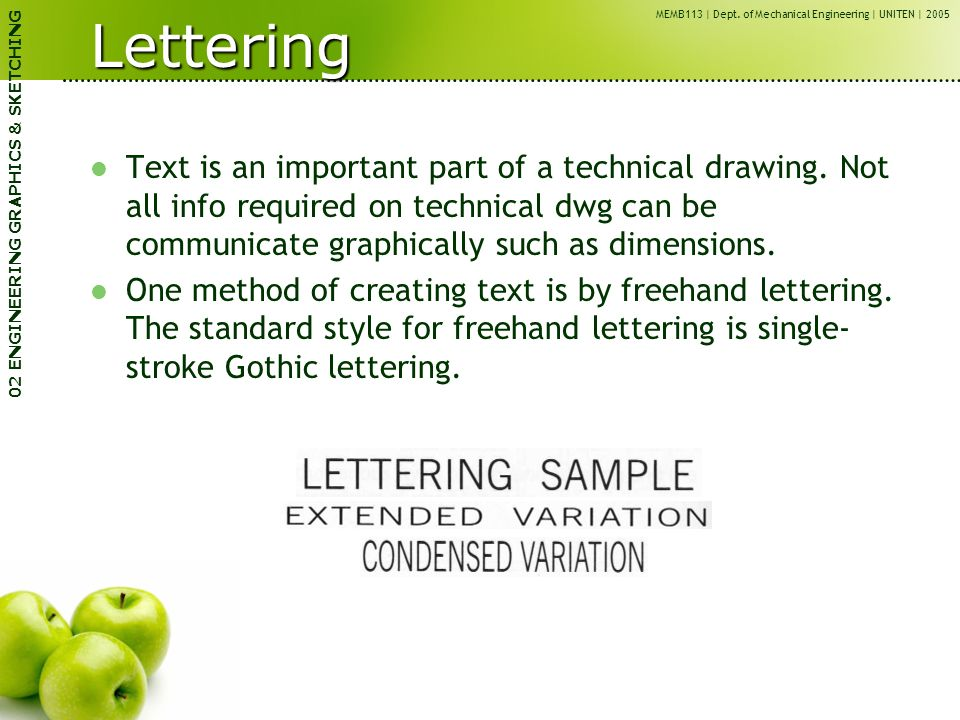 Memb113 Engineering Graphics Cae Ppt Video Online Download