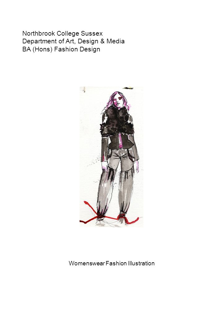 Womenswear Fashion Illustration Ppt Download