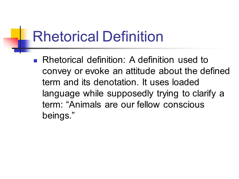 examples of rhetorical situations in everyday life