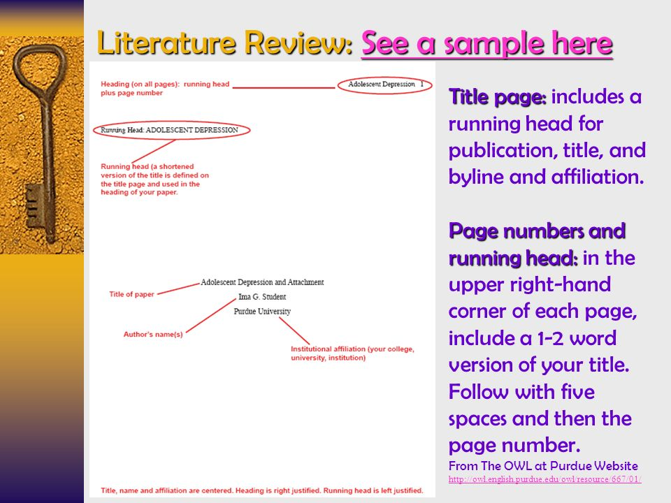 literature review purdue university Before you can review the literature,  the online writing lab of purdue university also offers some insight on how  tips for writing the literature review.