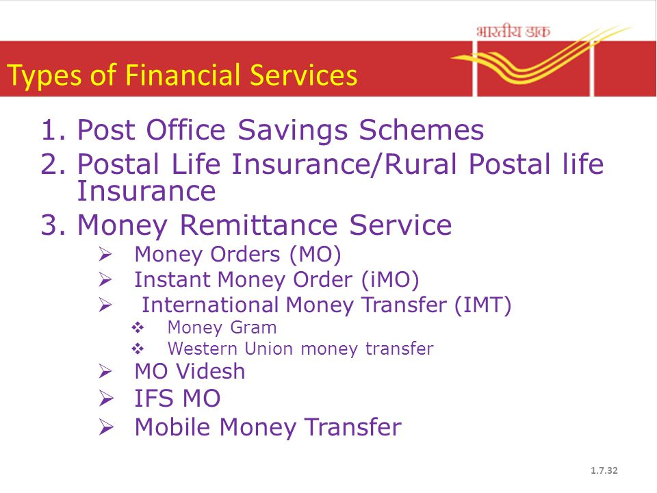 India Post Products & Services - ppt video online download