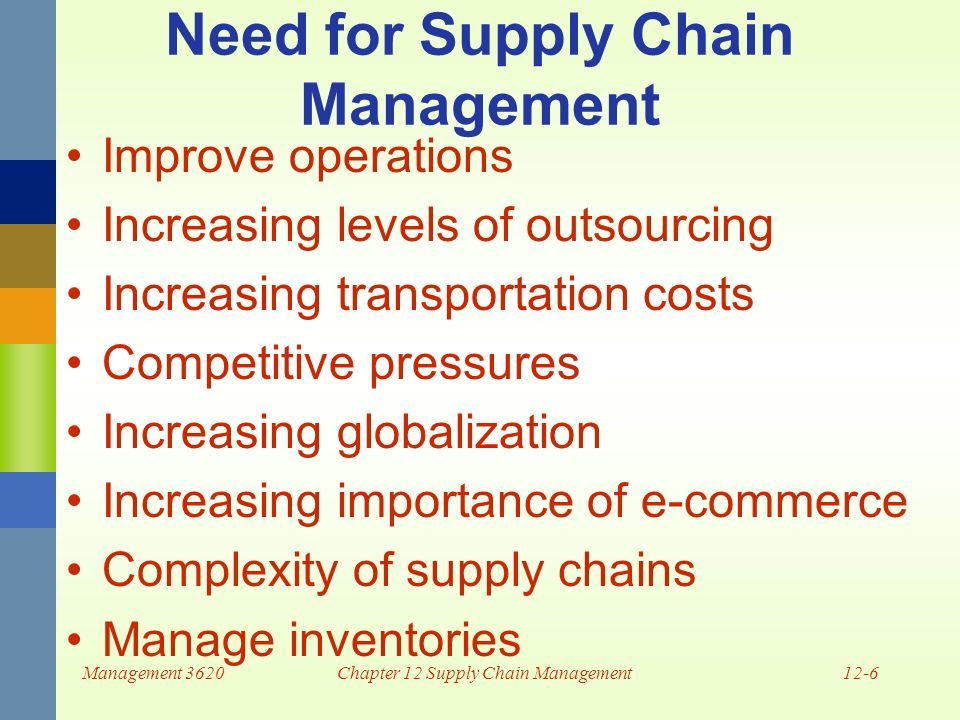 The role of the internet in supply chain management ppt.