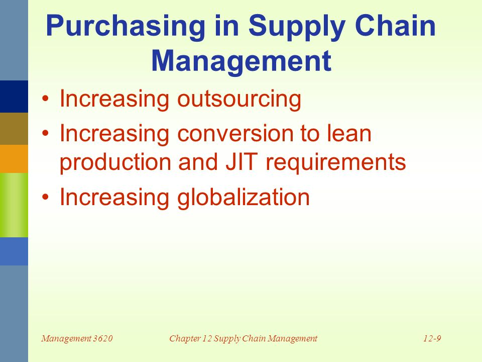 Supply chain management (scm) |authorstream.