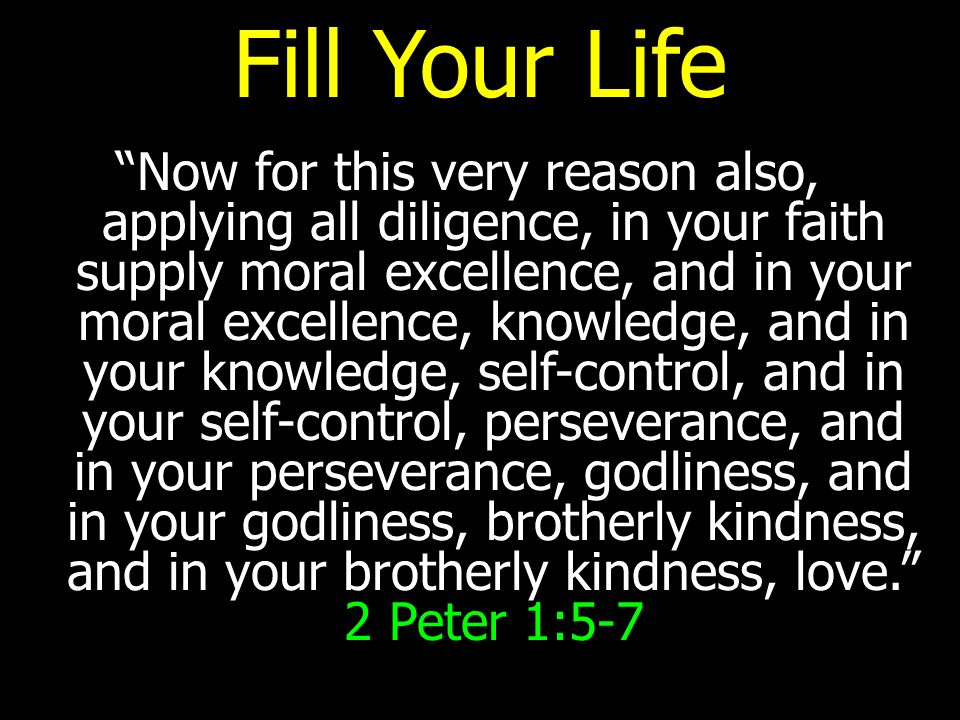 Fill Your Life