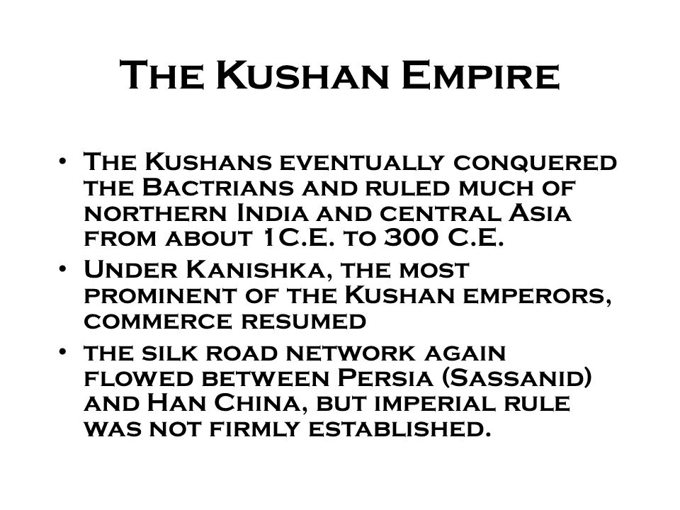 kushan empire