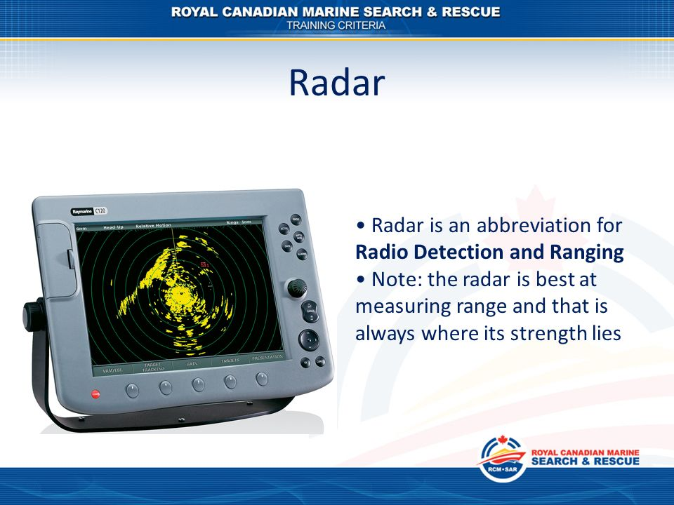 NAVIGATION TRAINING Radar - ppt video online download