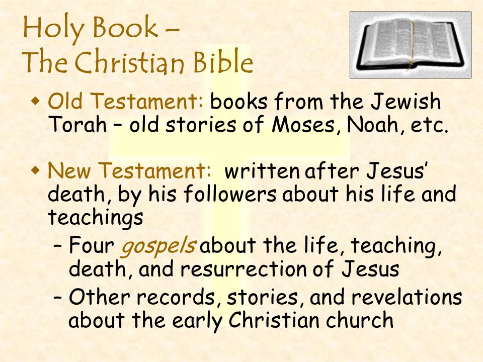 Holy Book – The Christian Bible