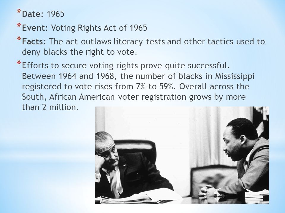 Identify The Events And Influential Individuals Of The Civil Rights