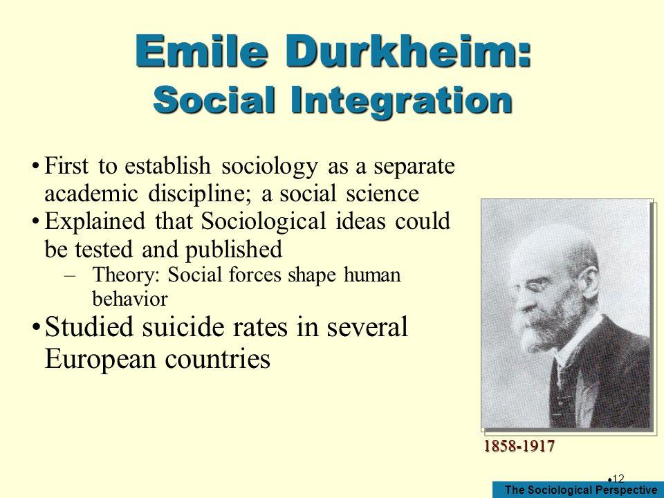 durkheim social integration