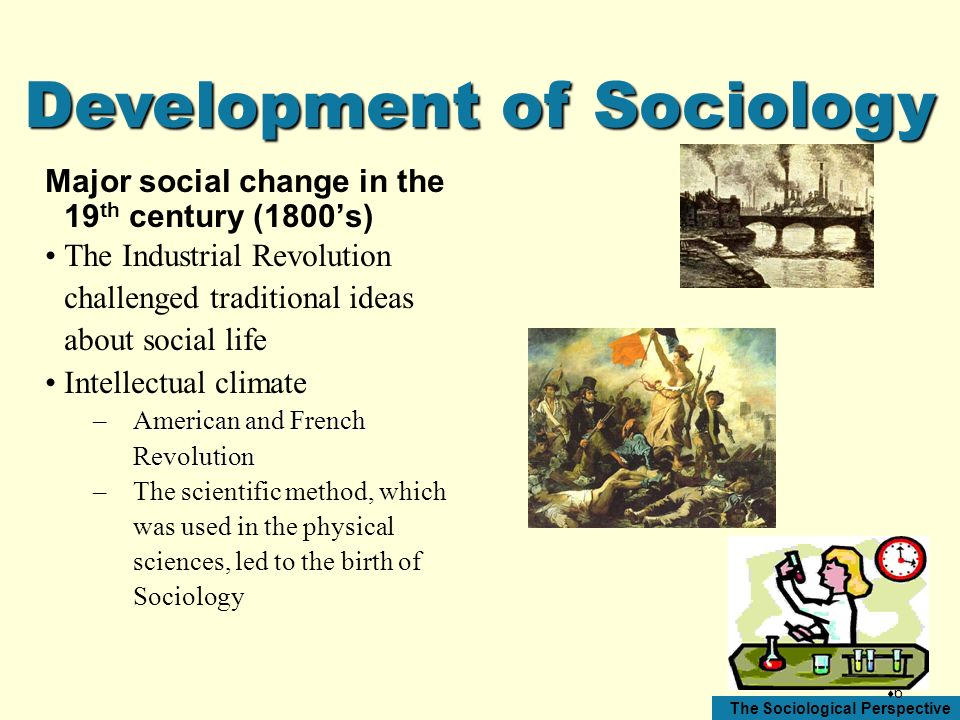 Development of Sociology