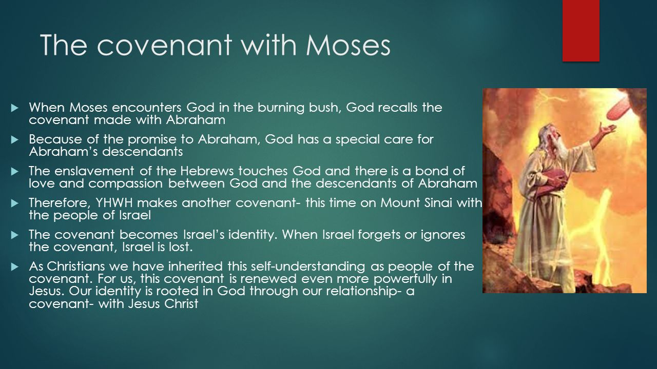 gods covenant with moses