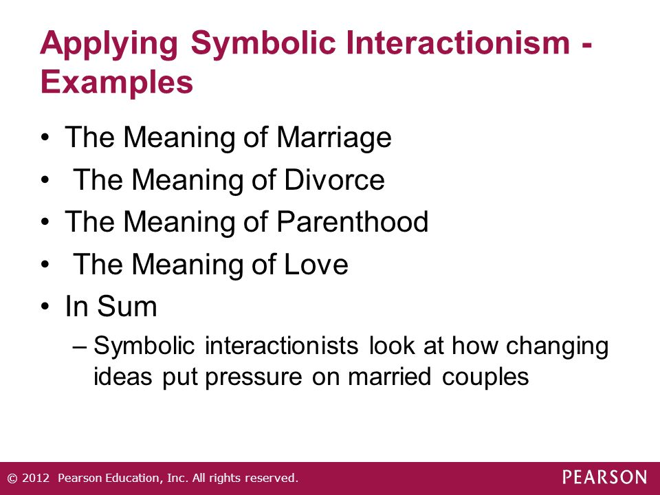 symbolic perspective sociology