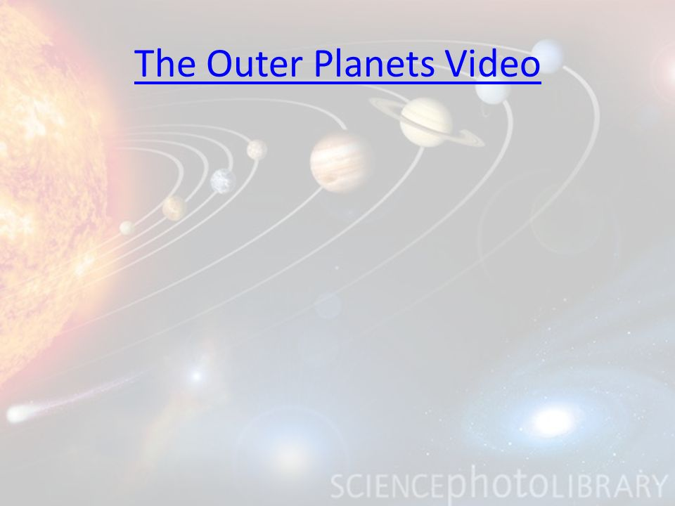 The Outer Planets Video