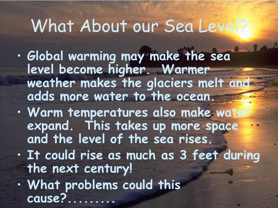 What About our Sea Level