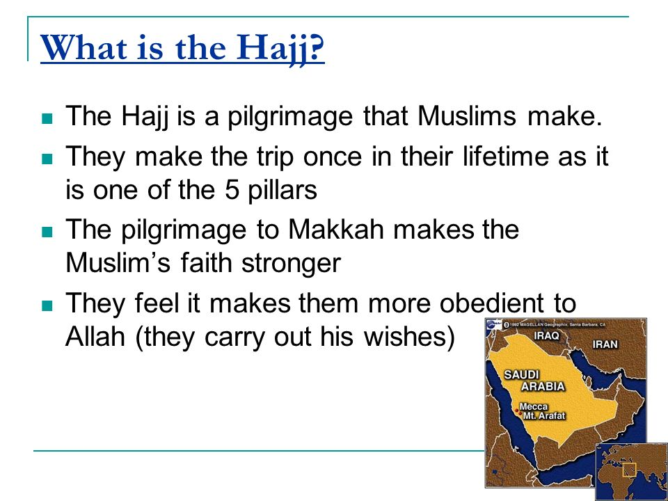 The Muslim's pilgrimage to Makkah - ppt video online download
