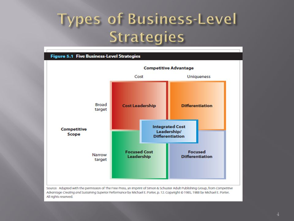 what is dell s basic business strategy cost leadership or differentiation Focused cost leadership a generic business strategy that requires competing based on price to target a narrow market is the first of two focus strategies a focused cost leadership strategy requires competing based on price to target a narrow market ( figure 56 focused cost leadership .