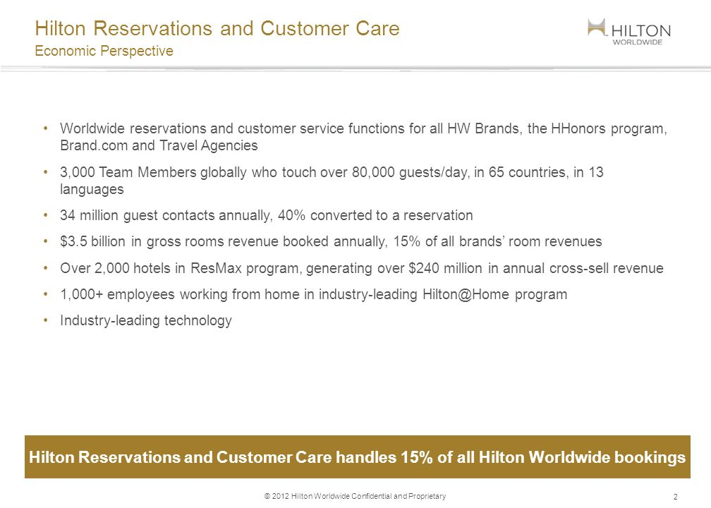 Hilton work from home program