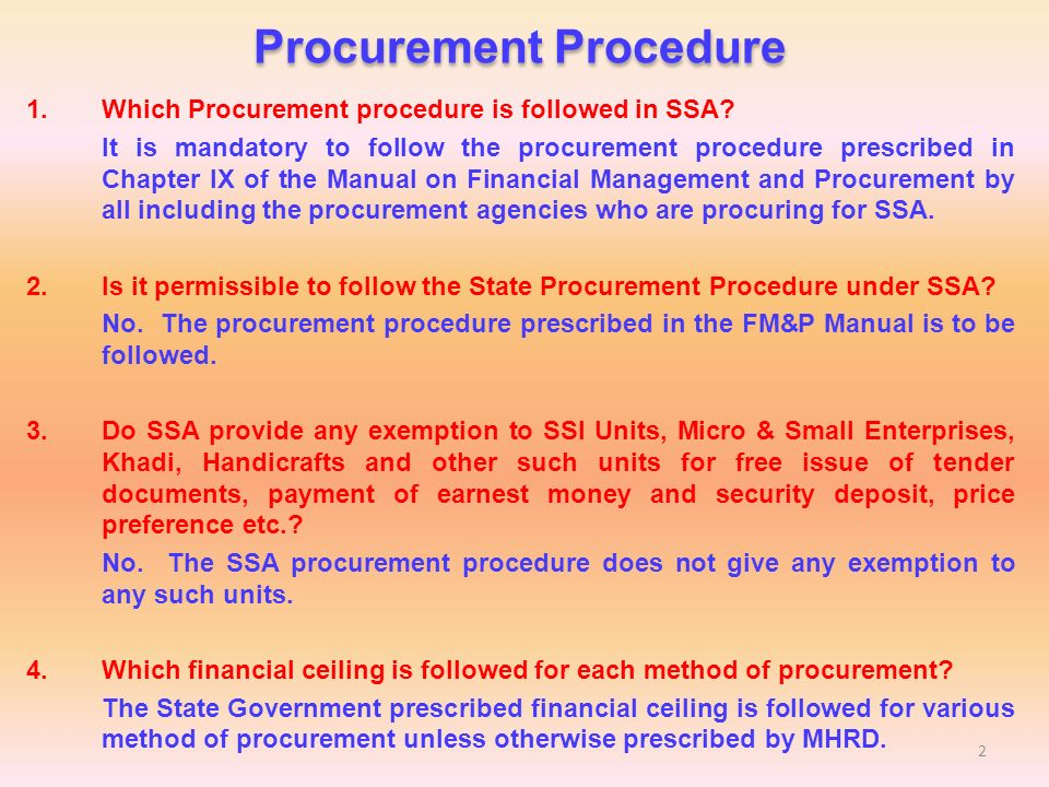 procurement procedure ppt video online download rh slideplayer com procurement procedure manual pdf procurement procedure manual mukwano