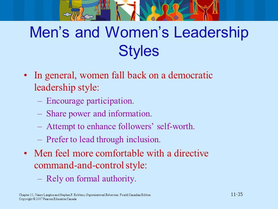 canadian leadership style