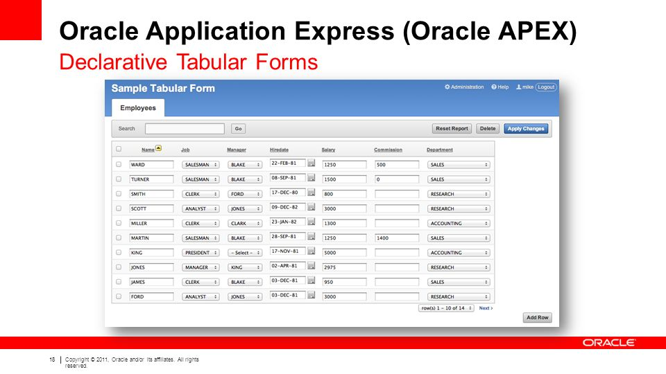 Oracle Application Express (Oracle APEX) - ppt video online download