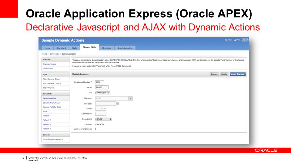 Oracle Application Express (Oracle APEX) - ppt video online