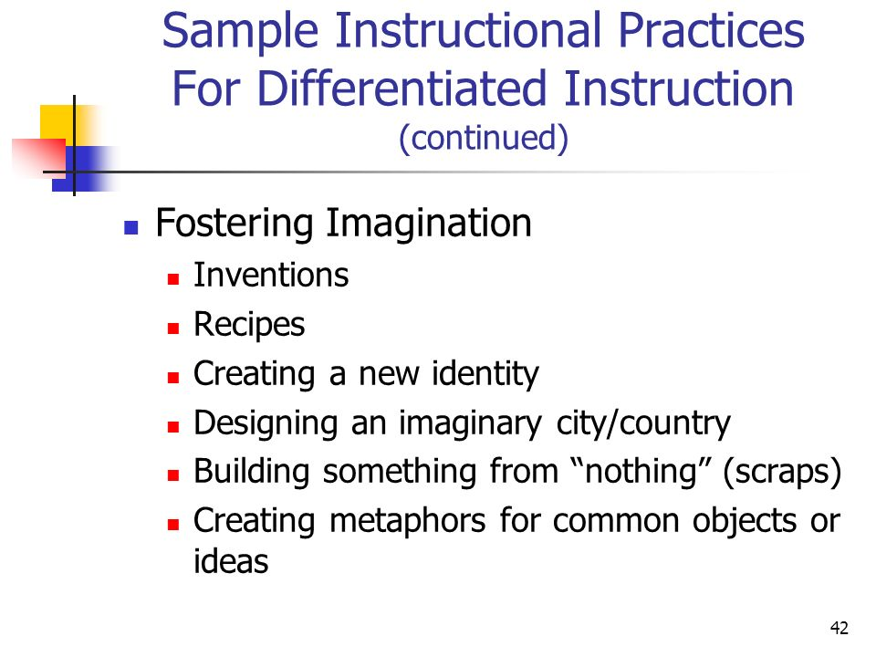 Differentiated Instruction Metaphors How To Troubleshooting