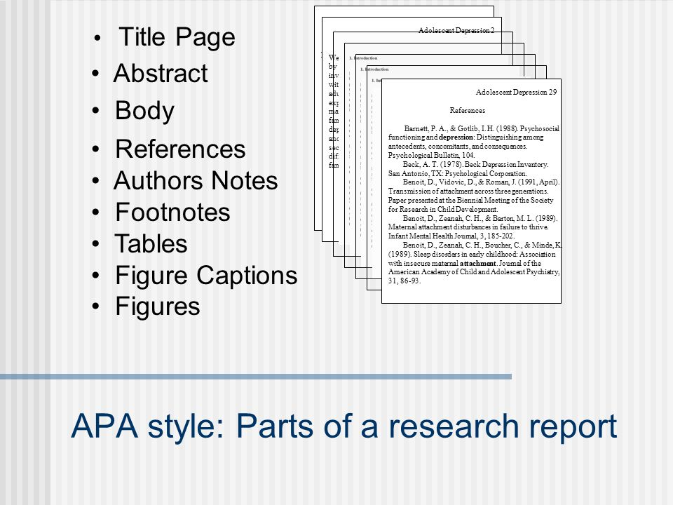 Research Designs Reading And Writing With APA Style Ppt Video