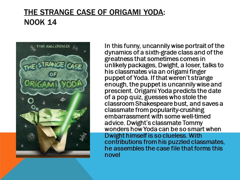 Strange Case Of The Origami Yoda Images Origami Instructions Easy