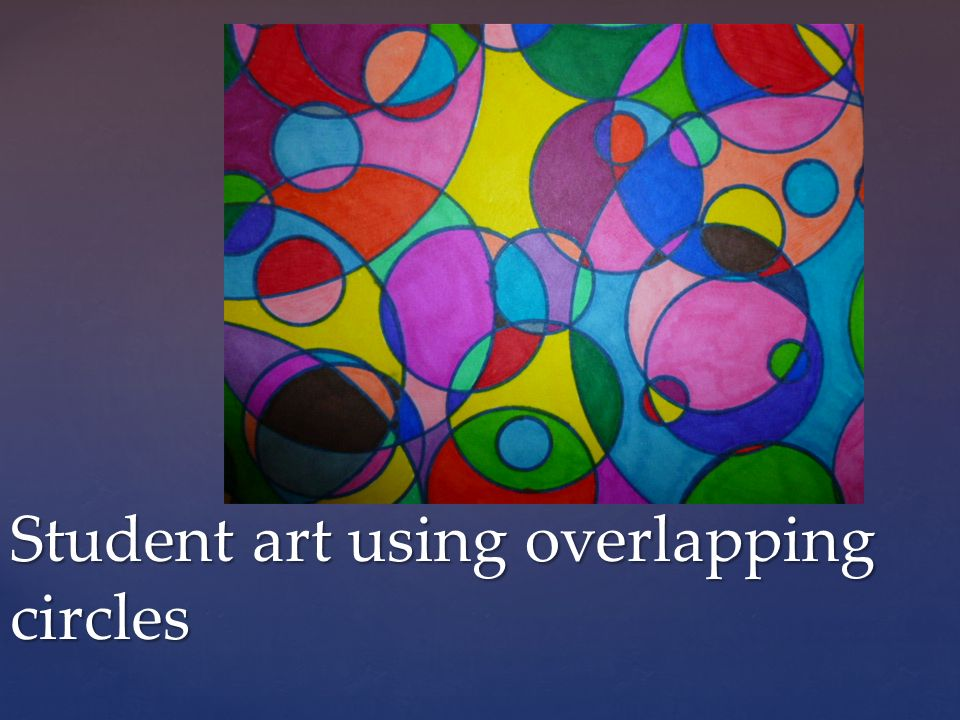 Overlapping Shapes Abstract Art Ppt Video Online Download