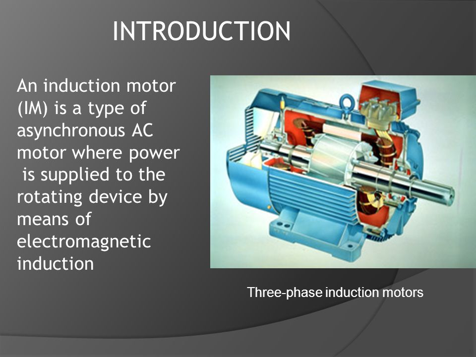 Introduction to squirrel cage induction motor youtube.