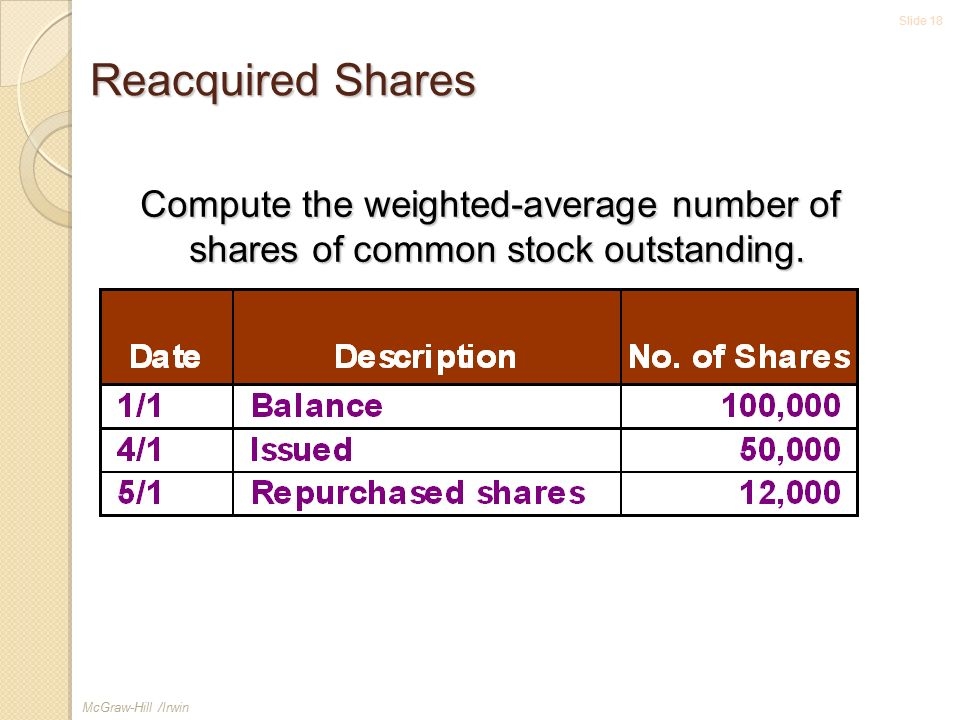 how to find outstanding shares of common stock